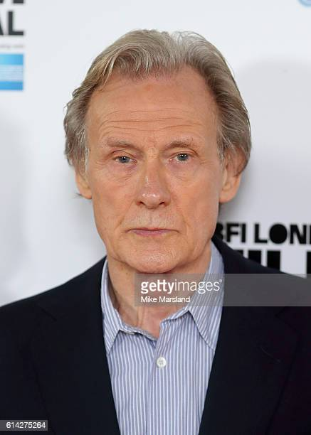Bill Nighy attends 'Their Finest' photocall during the 60th BFI London Film Festival at The Mayfair Hotel on October 13 2016 in London England