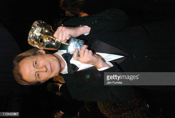Bill Nighy during 2004 BAFTA Awards Backstage and Audience at The Odeon Leicester Square in London United Kingdom