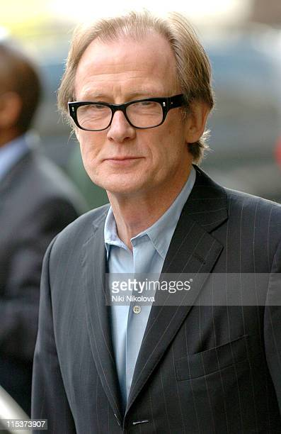 Bill Nighy during 'Hitchhiker's Guide to the Galaxy' Stars Sightings April 20 2005 at Dorchester Hotel in London Great Britain