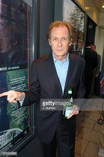 Bill Nighy during I'll Sleep When I'm Dead London Premiere at Screen On The Green Islington in London Great Britain