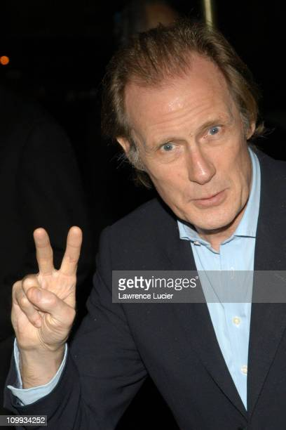 Bill Nighy during Love Actually New York Premiere After Party at The Metropolitan Club in New York City New York United States