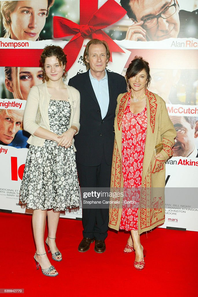 Bill Nighy with his wife and his daughter. News Photo ... - photo#5