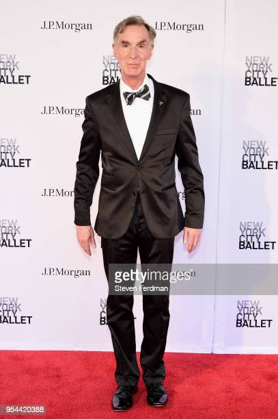 Bill Nye attends New York City Ballet 2018 Spring Gala at Lincoln Center on May 3 2018 in New York City