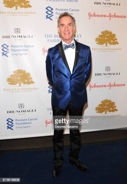 Bill Nye attends the 2nd Annual Blue Jacket Fashion Show at Pier 59 Studios on February 7 2018 in New York City