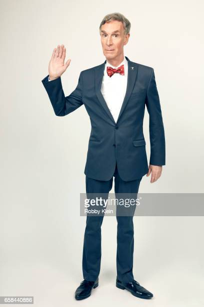 Bill Nye of 'Bill NyeScience Guy' poses for a portrait at The Wrap and Getty Images SxSW Portrait Studio on March 12 2017 in Austin Texas