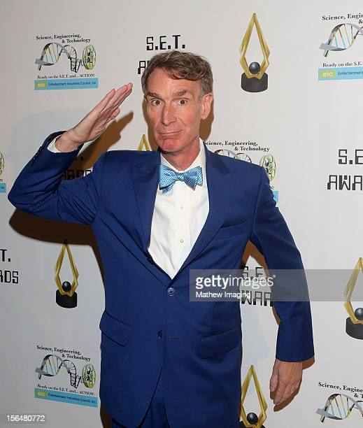 Bill Nye the Science Guy attends the 2nd Annual SET Awards which took place at Beverly Hills Hotel on November 15 2012 in Beverly Hills California
