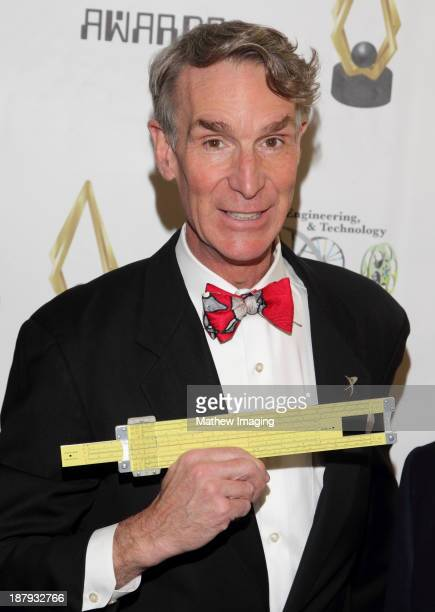 Bill Nye the Science Guy attends the 3rd Annual SET Awards at the Beverly Hills Hotel on November 13 2013 in Beverly Hills California