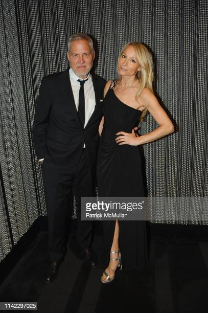 Bill Oberlander and Indira Cesarine attend the Many Hopes Spring Ball 2019 at Edison Ballroom on May 7 2019 in New York City