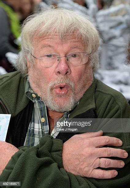 Bill Oddie attends Disney's 'Frozen' celebrity screening at the Odeon Leicester Square on November 17 2013 in London England