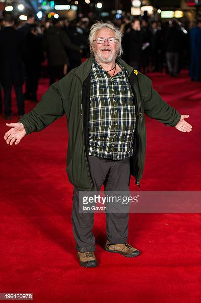 Bill Oddie attends the World Premiere of Ronaldo at Vue West End on November 9 2015 in London England
