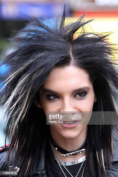 Bill of Tokio Hotel at the Tokio Hotel Sighting at the Champs Elysees September 27 2006 at Champs Elysee in Paris