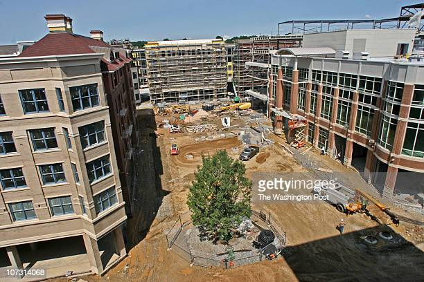Bill O'Leary A huge condominium project by Ross Development in old town Rockville Pictured a view of the town center which is planned only for...