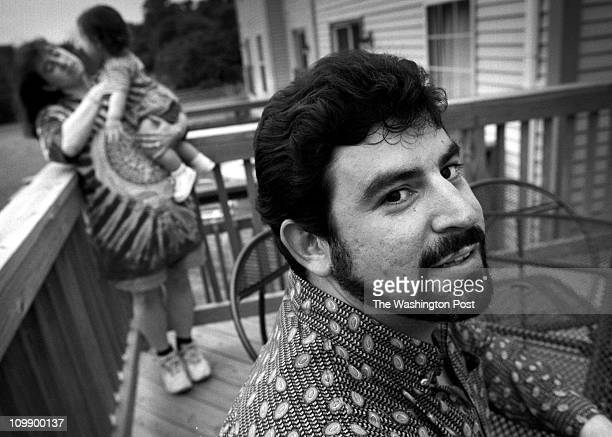 Bill O'Leary Olney MD David Alperin participant in one of our focus groups Pictured Alperin right on his townhouse deck Behind him is wife Lori and...