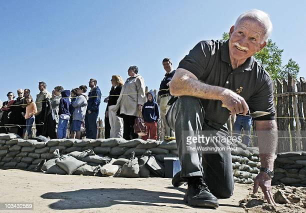 Bill O'Leary We are approaching the 400th anniversary of the British landing at Jamestown Pictured Dr Bill Kelso the archaeologist who rediscovered...