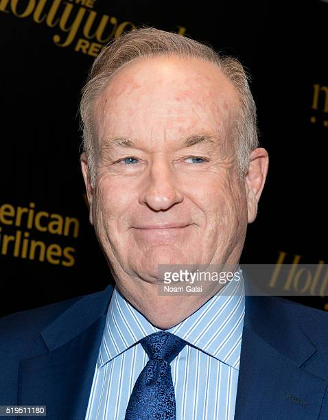 Bill O'Reilly attends The Hollywood Reporter's 2016 35 Most Powerful People in Media at Four Seasons Restaurant on April 6 2016 in New York City