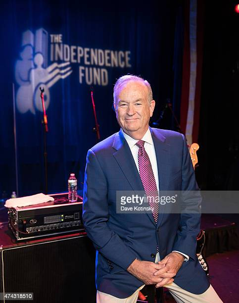 Bill O'Reilly attends the Rock The Boat Fleet Week Kickoff Concert at Hard Rock Cafe Times Square on May 21 2015 in New York City