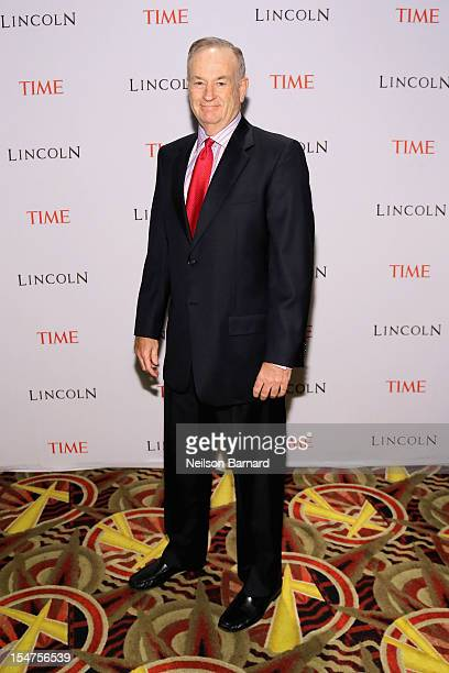 Bill O'Reilly attends the TIME's screening of Lincoln and Q A on October 25 2012 in New York City