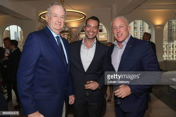 Bill O'Reilly Bryan Eure and Bill White attend Ambassador Grenell Goodbye Bash on May 6 2018 in New York City