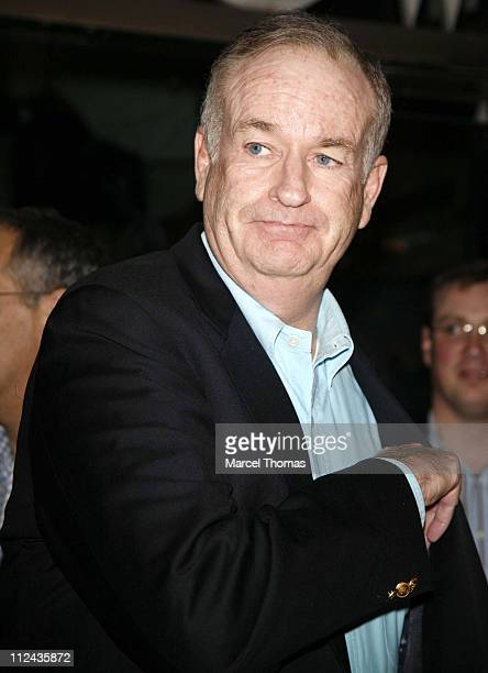 Bill O'Reilly during Celebrity Sightings at Mr Chow at Mr Chow in Beverly Hills United States
