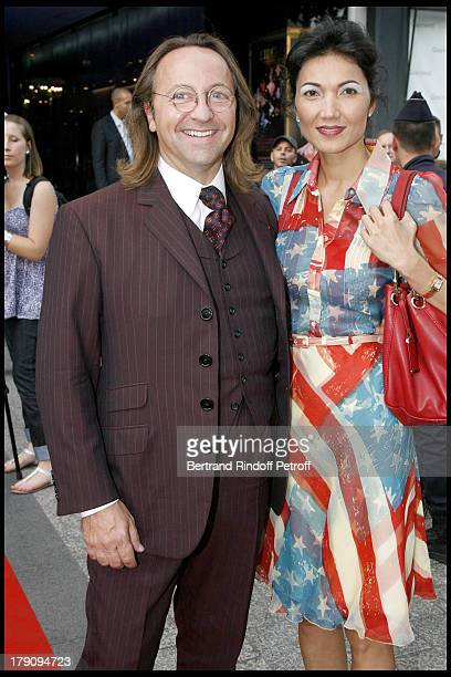 Bill Pallot and Bina Llyod at 'L'Affaire Farewell' Film Premiere And Charity Dinner To Benefit The Claude Pompidou Foundation
