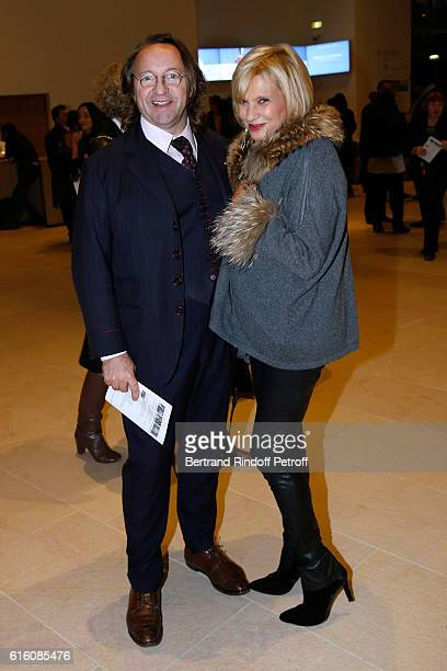 Bill Pallot and Silvia Beder attend the 'Icones de l'Art Moderne La Collection Chtchoukine' at Fondation Louis Vuitton on October 21 2016 in Paris...