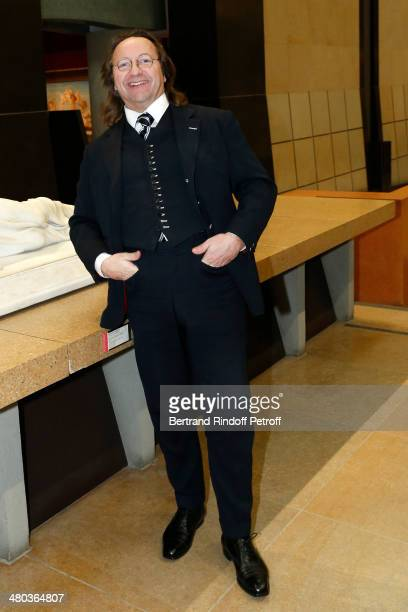Bill Pallot attends the dinner party of the Societe Des Amis Du Musee D'Orsay at Musee d'Orsay on March 24 2014 in Paris France