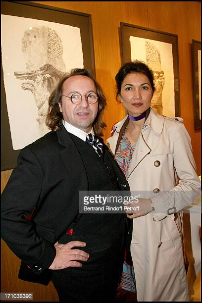 Bill Pallot Bina Llyod at The Joint Private Function Of Wendy Artin And Marina Cicogna At La Galerie Du Passage Pierre Passebon In Paris