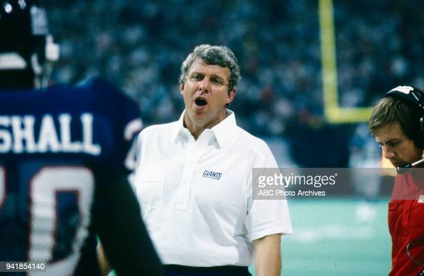 Bill Parcells Dallas Cowboys vs New York Giants gameplay