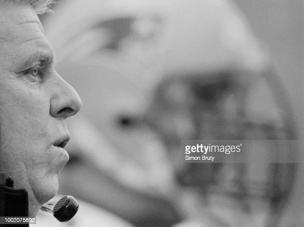 Bill Parcells Head Coach for the New England Patriots during the American Football Conference East game against the Buffalo Bills on 18 December 1994...