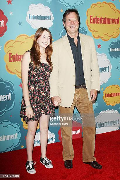 Bill Paxton and daughter arrive at the Entertainment Weekly's Annual ComicCon celebration held at Float at Hard Rock Hotel San Diego on July 20 2013...