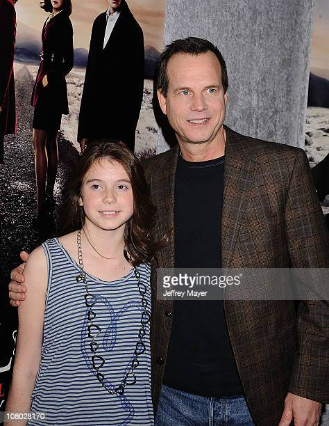 Bill Paxton and daughter attend HBO's Big Love Season 5 Party at Directors Guild Of America on January 12 2011 in Los Angeles California