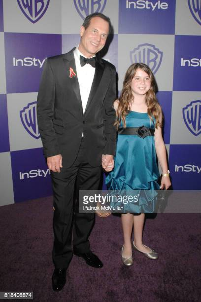 Bill Paxton and daughter Lydia Paxton attend INSTYLE and WARNER BROS Golden Globes After Party at Oasis Courtyard on January 17 2010 in Beverly Hills...