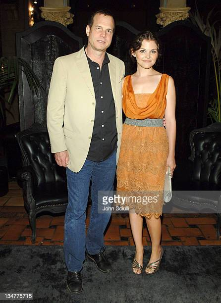 Bill Paxton and Ginnifer Goodwin wearing DG *Exclusive*