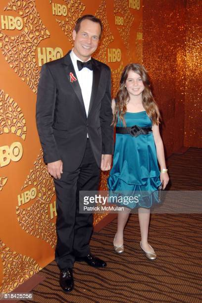 Bill Paxton and Lydia Paxton attend HBO Golden Globes After Party at Circa 55 Restaurant on January 17 2010 in Beverly Hills California