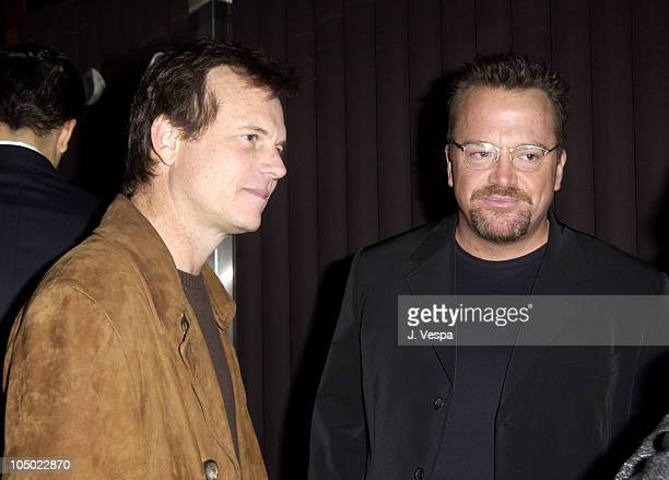 Bill Paxton and Tom Arnold during Tom Arnold's How I Lost 5 Pounds in 6 Years Book Party at Balboa Lounge in Los Angeles California United States