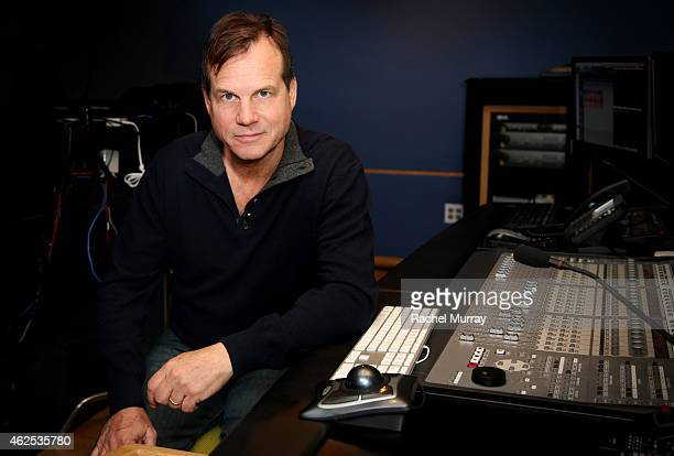Bill Paxton at a voice over recording session for Call of Duty Advanced Warfares 'Exo Zombies' mode part of the Havoc DLC pack on December 19 2014 in...