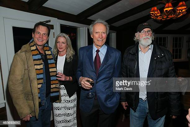 Bill Paxton, Christina Sandera, Clint Eastwood and Bruce Dern attend the 4th Annual Sun Valley Film Festival Vision Awards dinner honoring Clint...