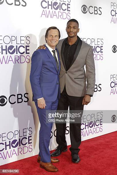 Bill Paxton, Justin Cornwell on the Red Carpet at the PEOPLE'S CHOICE AWARDS 2017, the only major awards show where fans determine the nominees and...