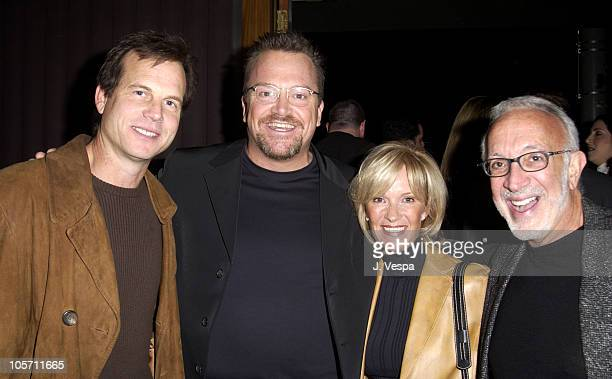 Bill Paxton Tom Arnold Stan Winston and wife during Tom Arnold's How I Lost 5 Pounds in 6 Years Book Party at Balboa Lounge in Los Angeles California...