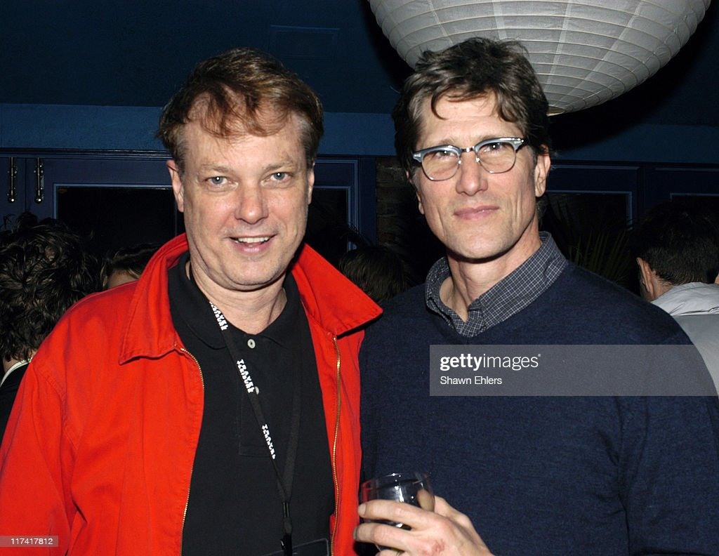 Bill Plympton and Rufus Sandefer during The 11th Annual Hamptons International Film Festival - Rising Stars Reception Hosted by HBO at Jean Luc in East Hampton, New York, United States.