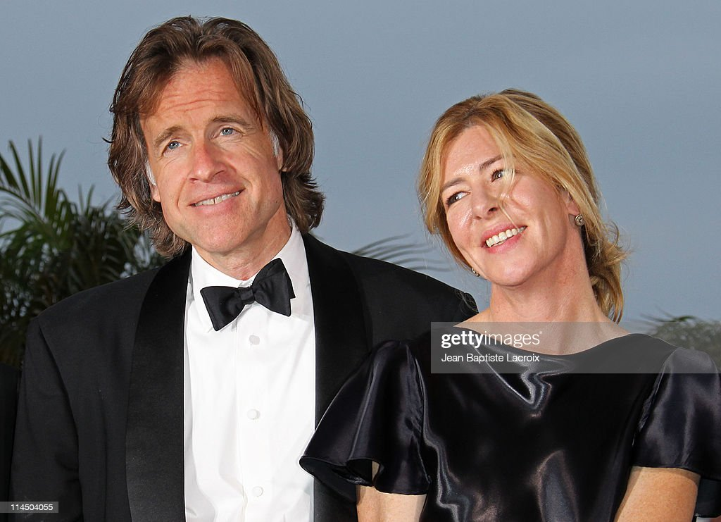 Bill Pohlad and Dede Gardner attend the Palme D'Or Winners Photocall at the 64th Annual Cannes Film Festival at Palais des Festivals on May 22, 2011 in Cannes, France.