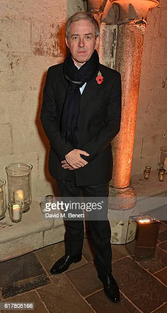 Bill Prince attends Marvel Studios and British GQ hosted reception in The Cloisters at Westminster Abbey, to celebrate the release of Doctor Strange...