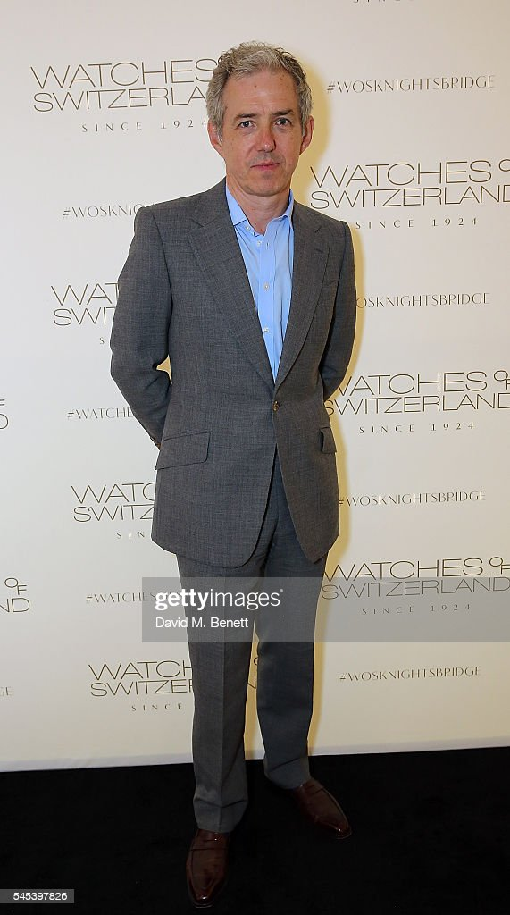 Bill Prince attends Watches Of Switzerland Knightsbridge Launch on July 7, 2016 in London, England.
