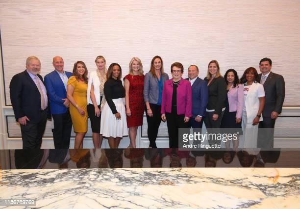 Bill Proudman CEO and cofounder White Men As Full Diversity Partners NFL Executive Scott Pioli Maria Cardona principal Dewey Square Group Danita...