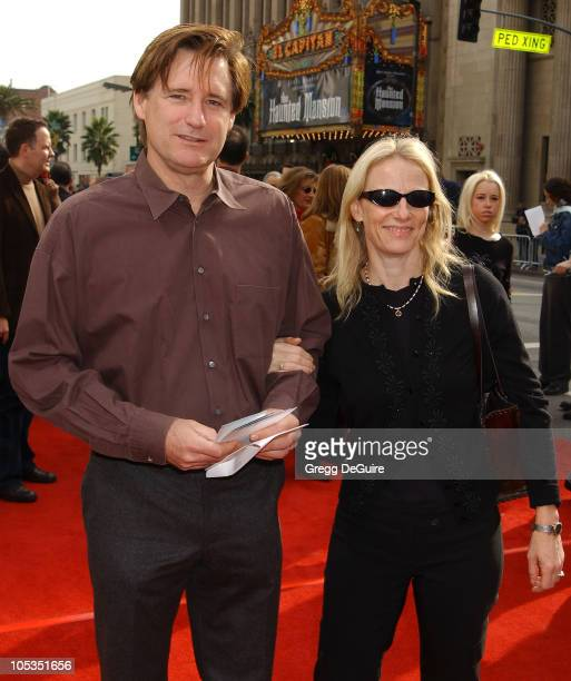 Bill Pullman and wife during 'Peter Pan' Los Angeles Premiere at Grauman's Chinese Theatre in Hollywood California United States