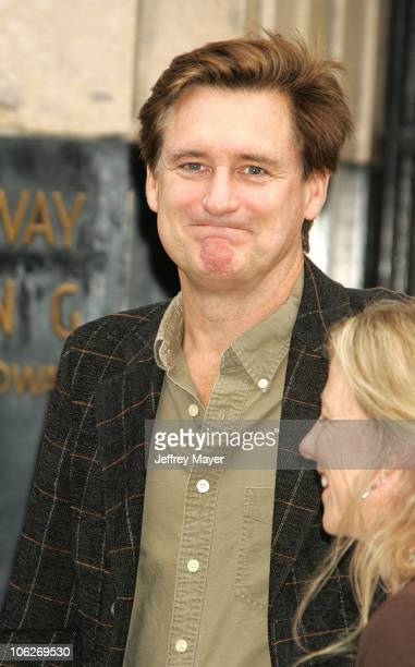 Bill Pullman during Columbia Pictures' 'The Legend of Zorro' Los Angeles Premiere Arrivals at Orpheum Theater in Los Angeles California United States