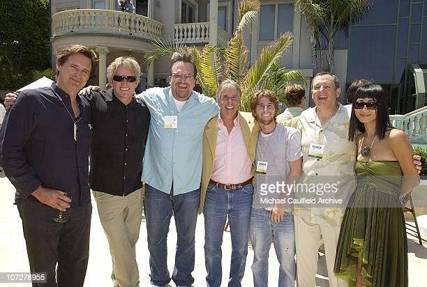 Bill Pullman, Gary Busey, Tom Arnold, Henry Winkler, Max Winkler, Darlene Daggett, President of US Commerce for QVC, Bai Ling and Tom Sherak
