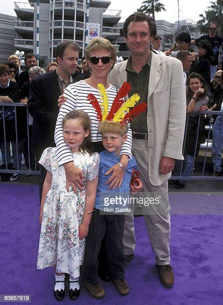 Bill Pullman Tamara Hurwitz daughter Maesa Pullman and son Jack Pullman