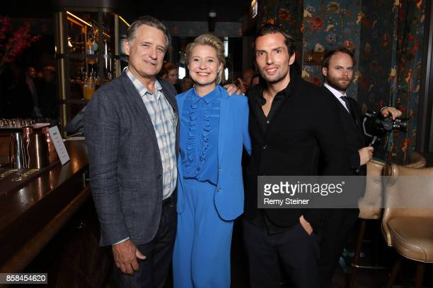 Bill Pullman Trine Dyrholm and Quirin Berg attend the Tommy Hilfiger VIP Dinner in celebration of the 13th Zurich Film Festival on October 6 2017 in...