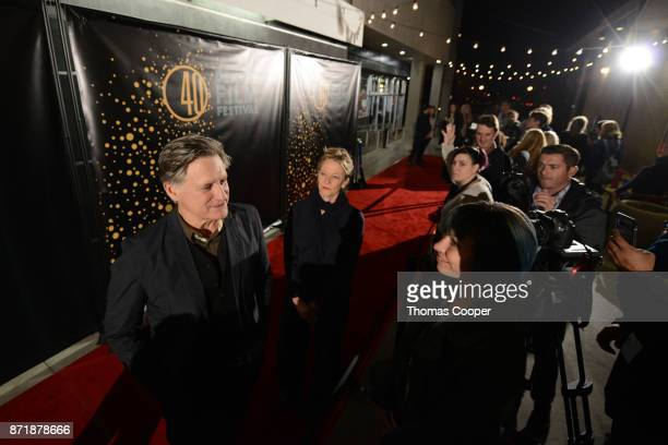 Bill Pullman walks the red carpet with his wife Tamara Hurwitz at the screening of the western 'The Ballad of Lefty Brown' during the 40th Denver...